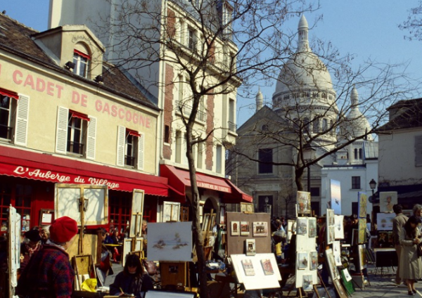 Place du Tertre _ Paris