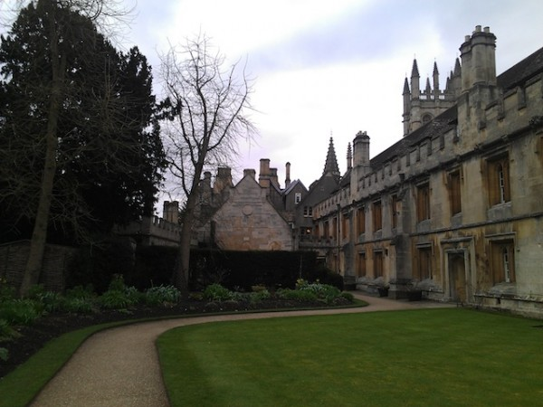 Magdalen College_Oxford University