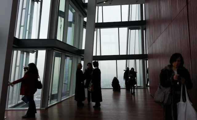 68 andar - The View from The Shard
