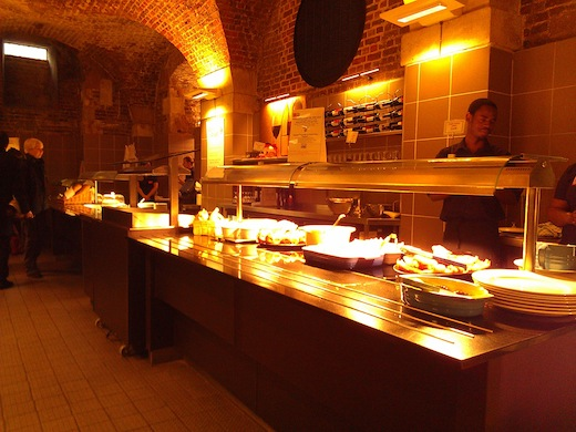 SelfService Cafe in the Crypt