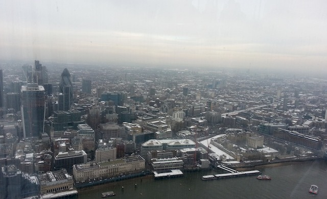 The View from The Shard - open air deck