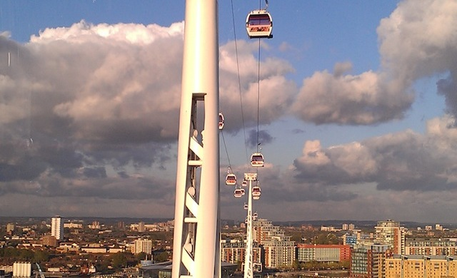 Emirates Air Linde Cable Cars - Thames