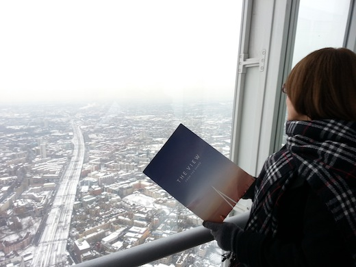 kit press The View from The Shard: um convite para ver Londres do alto