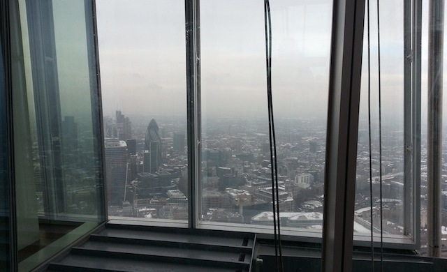 the view from the shard 640x390 The View from The Shard   Londres por todos os lados!