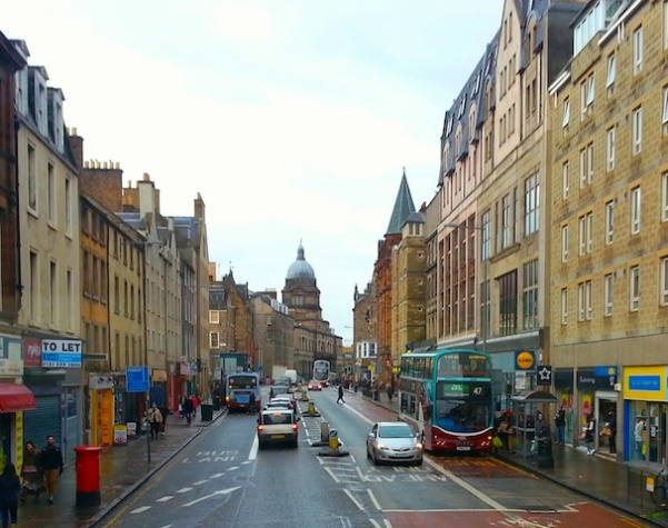 Salisbury Place - Edinburgh - Bus Upper deck