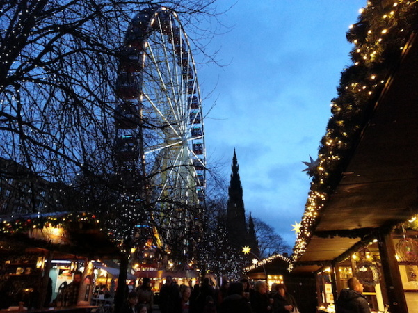Christmas Market - Edinburgh