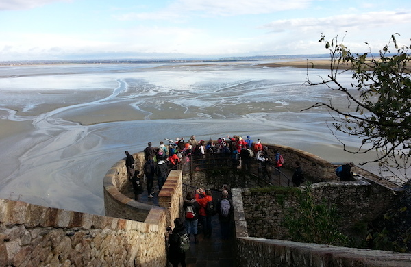 Mont St Michel - as muralhas