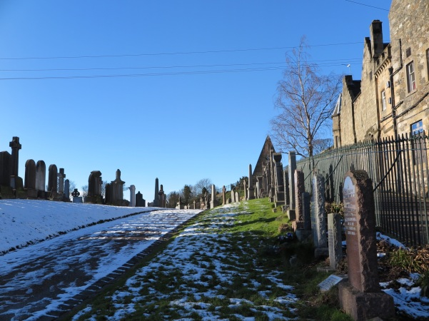 Old Town Cemetery - Stirling - Escócia