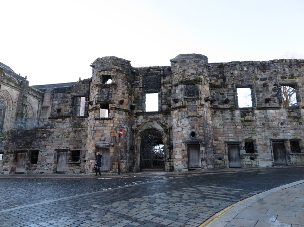 Readingy Abbey ruins - Broad Street - Stirling - Escócia