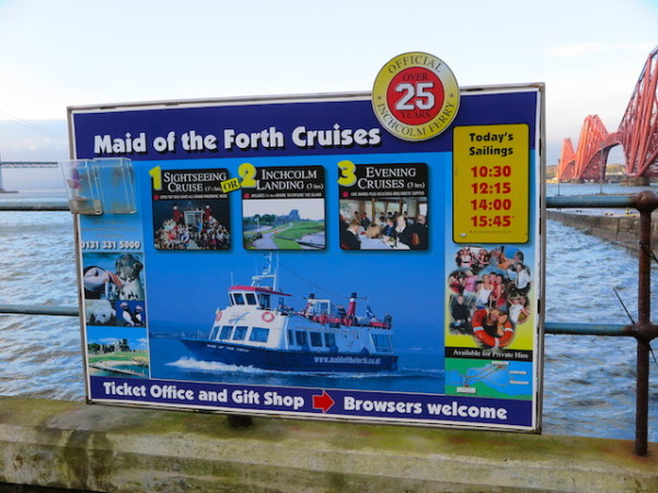 the Forth Cruises - South Queensferry - Escócia